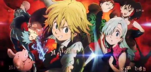 Primer teaser del anime Nanatsu no Taizai