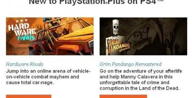 Estos serán los juegos gratuitos de Playstation 4 en Playstation Plus