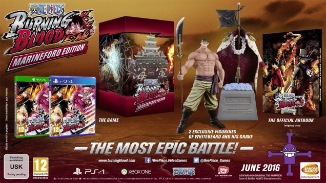 Nuevo tráiler de One Piece Burning Blood que anuncia su edición coleccionista