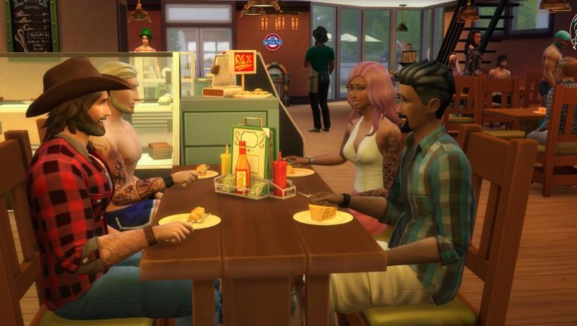 La próxima expansión de los Sims 4 podría incorporar restaurantes