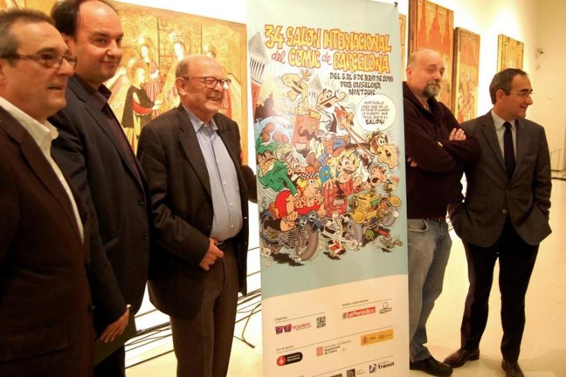 Francisco Ibáñez será uno de los protagonistas del 34 Salón del cómic de Barcelona