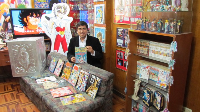 Jorge de Pegaso recupera el record Guinness de la mayor colección de Saint Seiya del mundo