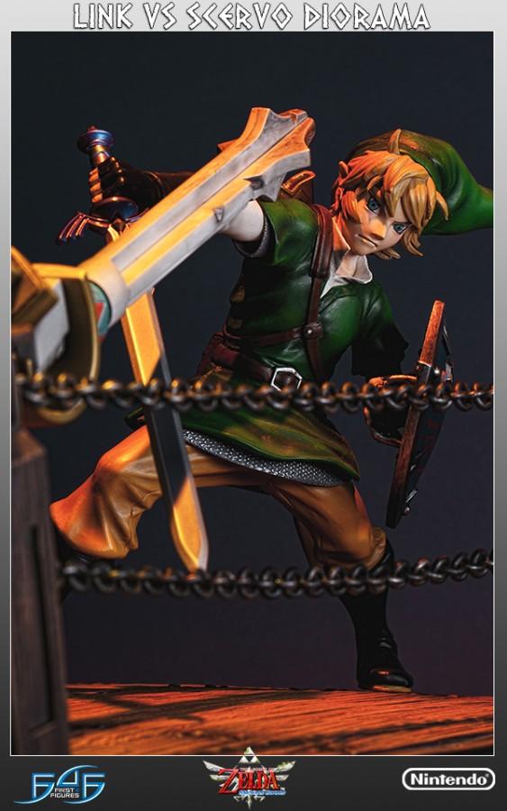 First 4 figures abre reservas del diorama de Link VS Scervo