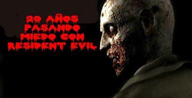 20 años pasando miedo con Resident Evil