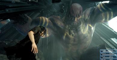 Titán hace una aparición colosal en un nuevo gameplay de Final Fantasy XV