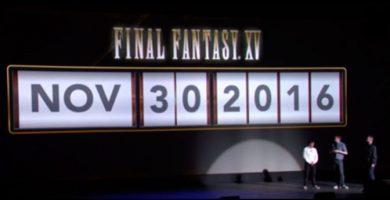 Final Fantasy XV se retrasa hasta noviembre