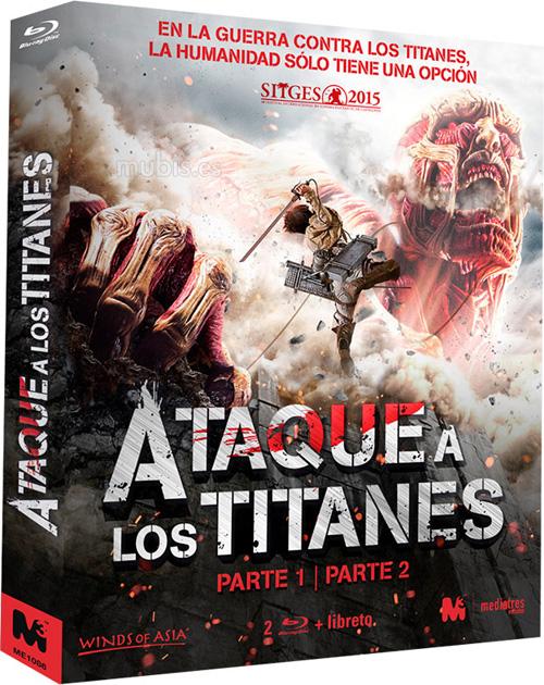 Las dos películas de imagen real de Ataque a los titanes saldrán en un pack en octubre