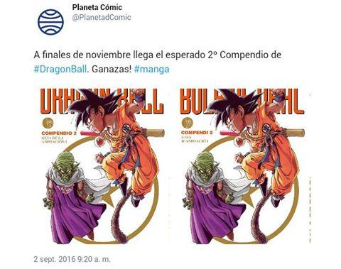 El segundo compendio de Dragon Ball llegará a las tiendas a finales de noviembre