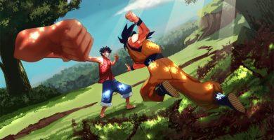 Goku y Luffy podrán intercambiar golpes con el juego cruzado