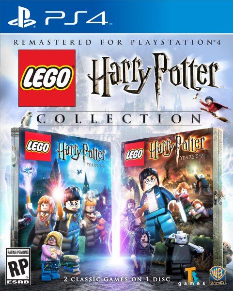 Los juegos de Lego basados en Harry Potter saldrán a la venta en PS4 en un pack