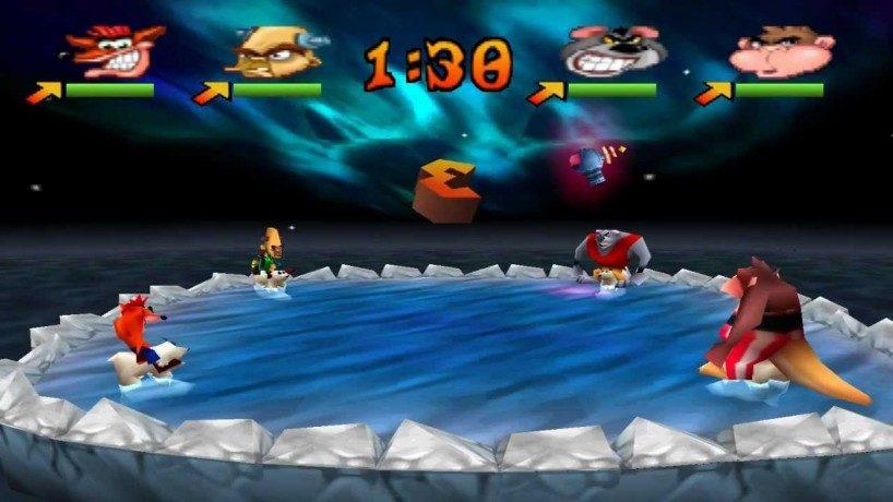 20 años girando y girando con Crash Bandicoot