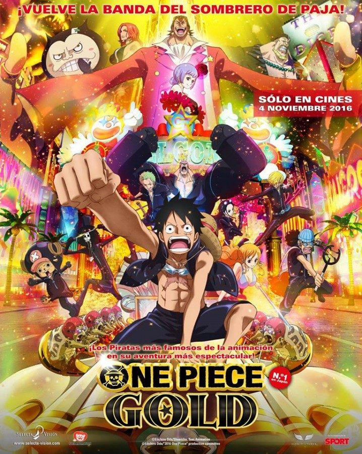 Selecta Visión desvela el elenco de voces de One Piece Film Gold