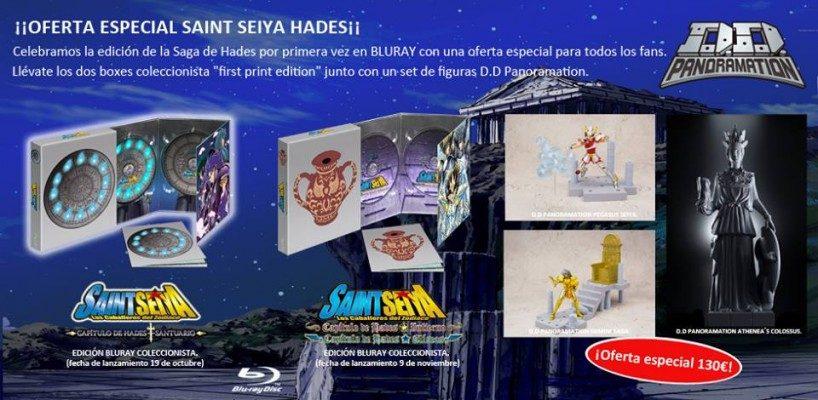 Selecta Visión lanza una oferta especial para Saint Seiya saga de Hades en BD