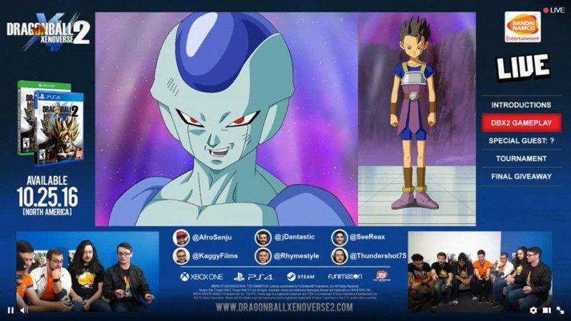 Un nuevo gameplay muestra a Black Goku en movimiento y además se anuncian los personajes del primer DLC de Dragon Ball Xenoverse 2