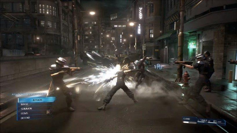Habrá cambios sustanciales en el sistema de batalla del remake de Final Fantasy VII