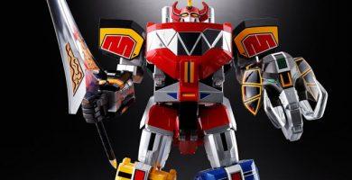 Bandai lanza en el mercado japonés el primer Megazord de los Power Rangers