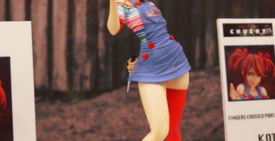 Así de inocente luce Chuky en la figura bishoujo de Kotobukiya