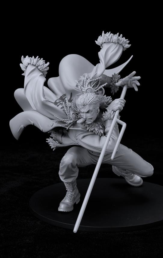 Prototipos de las nuevas scultures de One Piece