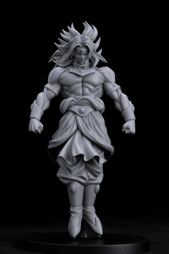 Prototipos de las próximas scultures de Dragon Ball