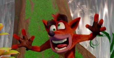 Así luce la remasterización de la trilogía original de Crash Bandicoot